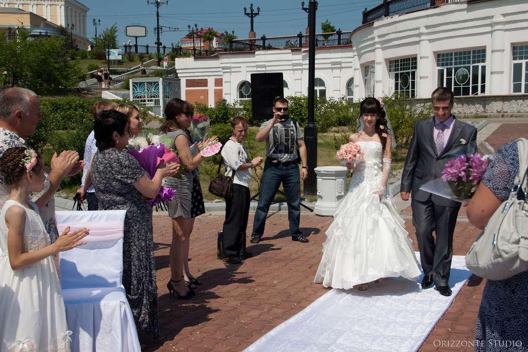 Свадьба с выездной регистрацией на смотровой площадке парка им. Муравьева-Амурского (Набережная) - фото 1552287 Orizzonte studio - свадьба под ключ