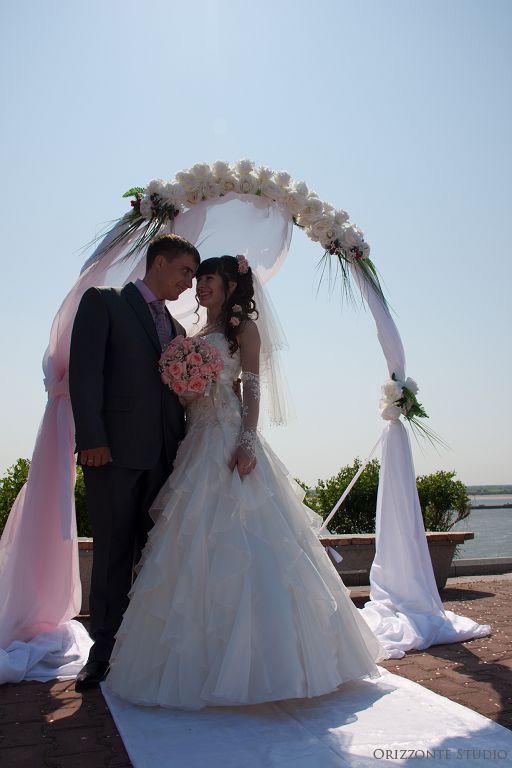 Свадьба с выездной регистрацией на смотровой площадке парка им. Муравьева-Амурского (Набережная) - фото 1552295 Orizzonte studio - свадьба под ключ
