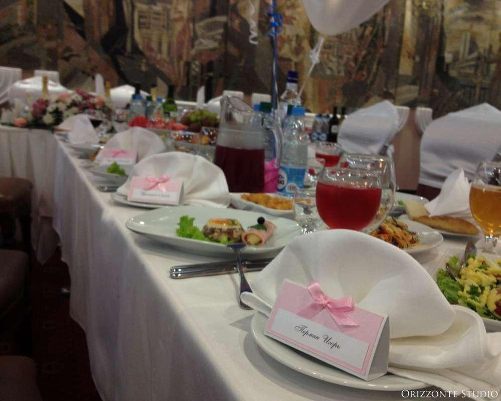 """Оформление свадебного банкета в ресторане """"Интурист"""". - фото 1552343 Orizzonte studio - свадьба под ключ"""