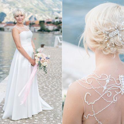 Образ невесты - макияж + причёска