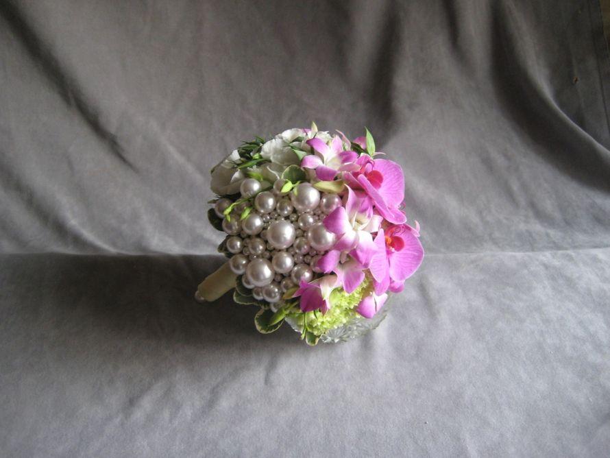 Свадебный букет из эустомы мастер класс
