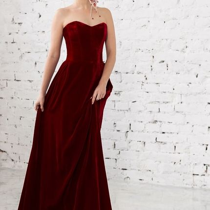 Вечернее платье Летем velur