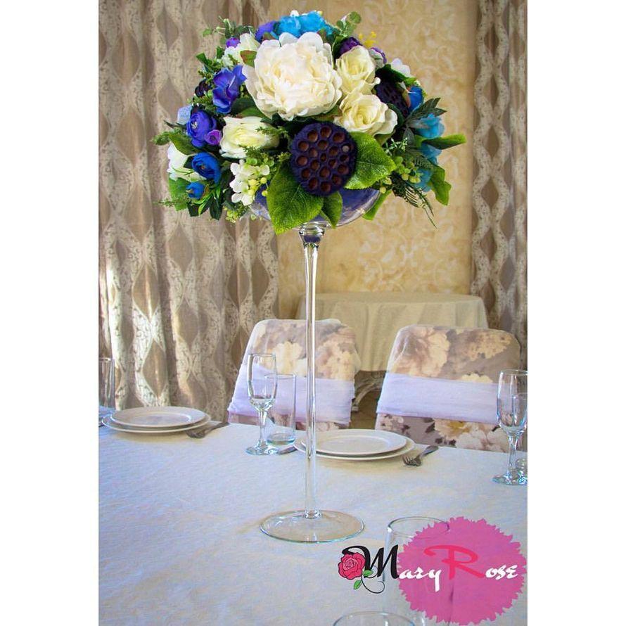Цветочные композиции на столы гостей, цена за 1 шт