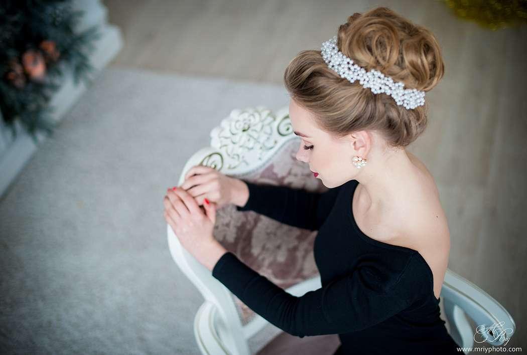 Фото 12993098 в коллекции Свадебные прически - Стилист причёсок Ксения Иващук