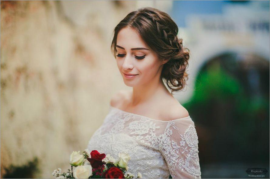 Фото 12993122 в коллекции Свадебные прически - Стилист причёсок Ксения Иващук