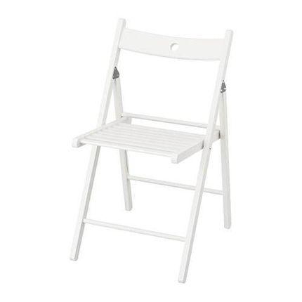Аренда стула белого (складной)