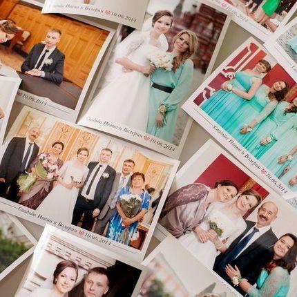 Моментальная печать фото на свадьбе, 4 часа
