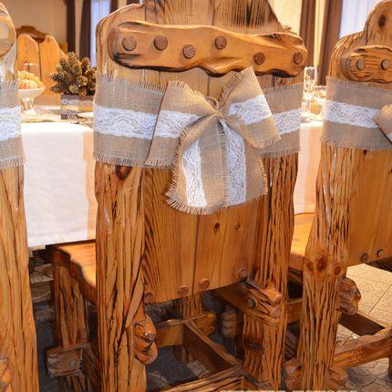 Аренда бантов для стульев, цена за 1 шт