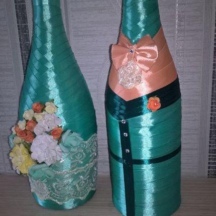 Оформление бутылок