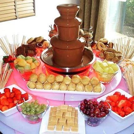 Шоколадный фонтан 40 см