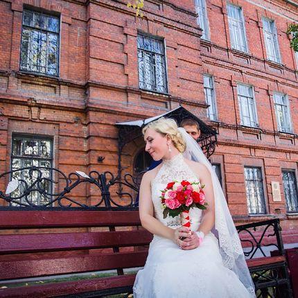 Фотосъемка свадьбы до первого танца