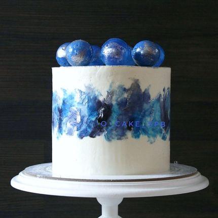 Акварельный торт, за 1 кг