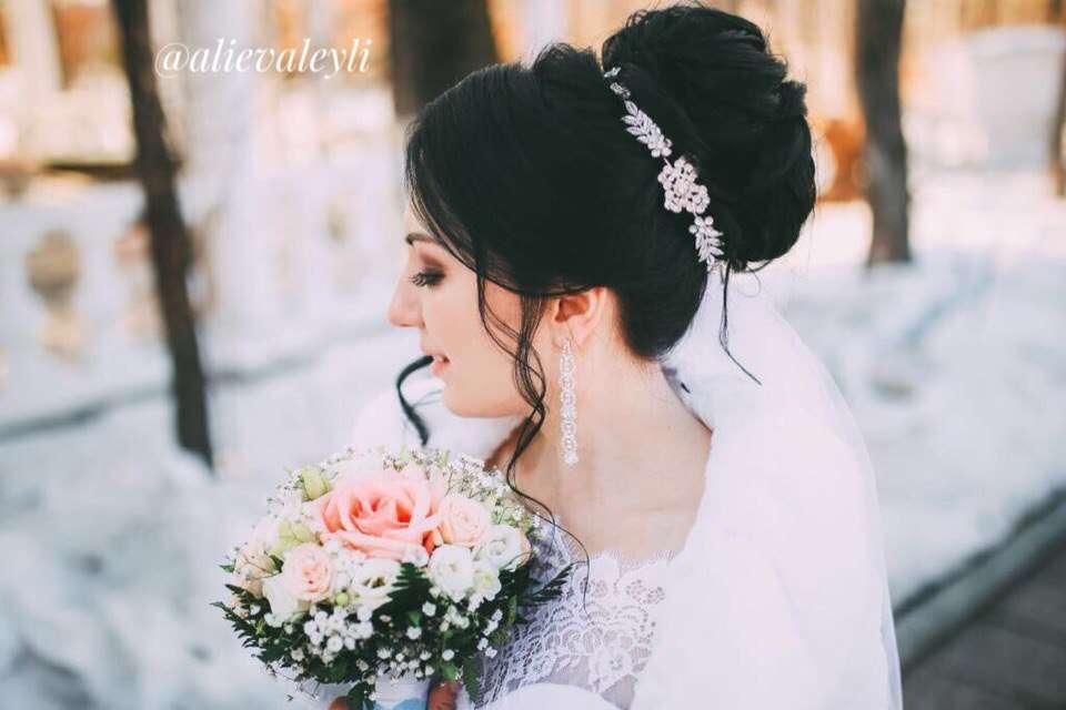 Невеста Аня - фото 15321464 Стилист Лейла Алиева