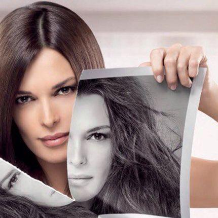 Мелирование волос, средних по длине