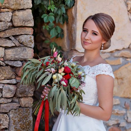 Авторский букет невесты