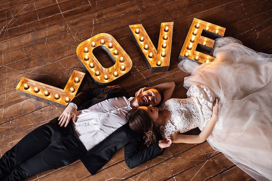 Аренда надписи Love 50см