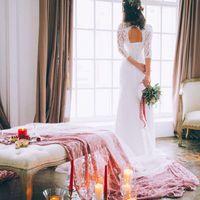 утро невесты, бордовая свадьба, свадьба марсала, утро невесты в фотостудии