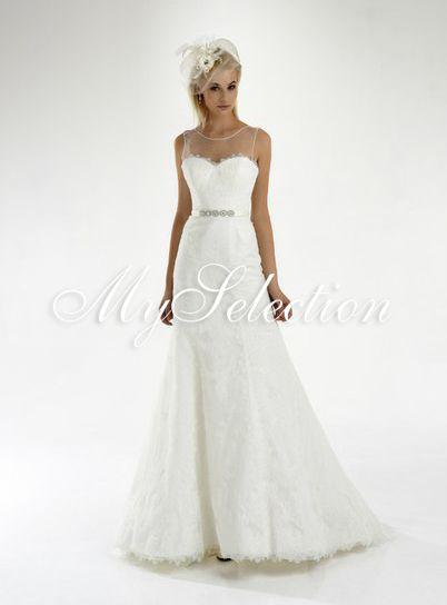 Свадебное платье, модель MS-20