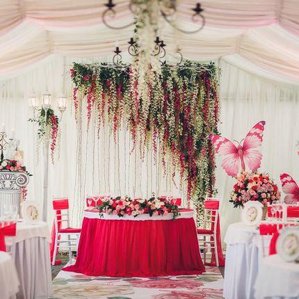 Индивидульная разработка дизайна на свадьбе