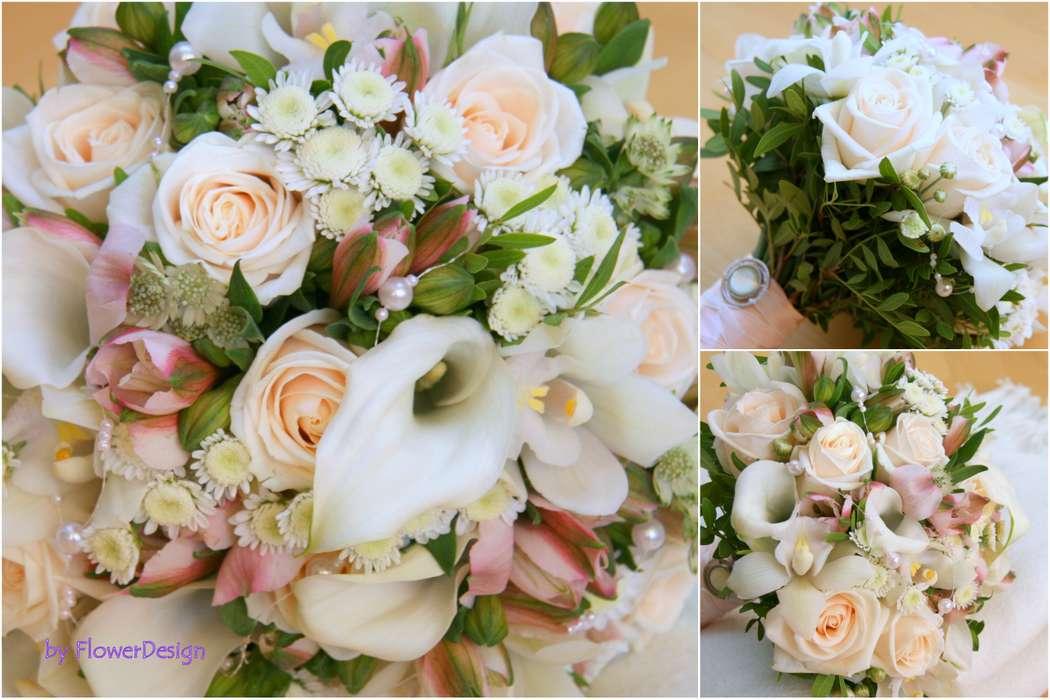 """букет невесты - фото 603990 Мастерская декора """"Flowerdesign"""""""