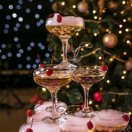 Горка шампанского на мероприятие