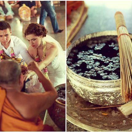 Организация церемонии в буддийском храме