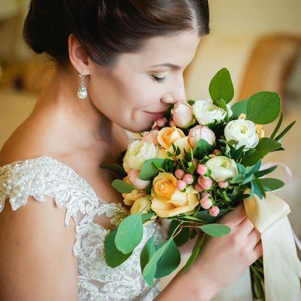 Репетиция свадебной прически