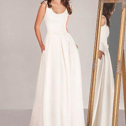 Длинное свадебное платье, арт. MP2016007