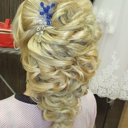 Свадебные украшения для причёски ручной работы