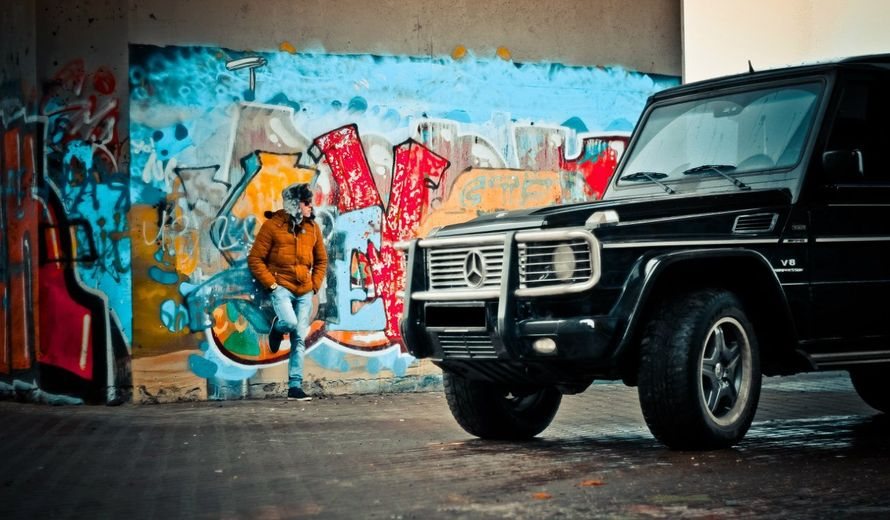 """Фото 13986214 в коллекции Mercedes G-class 55 (Gelandewagen AMG) - Транспортная компания """"Алмаз авто"""""""