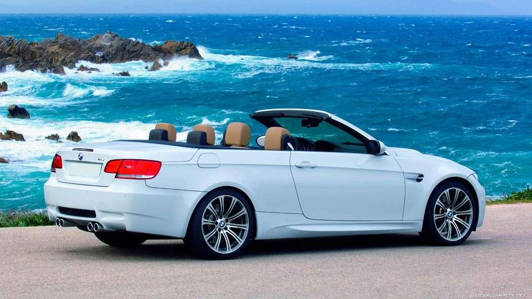 "- BMW 3 CONVERTIBLE, белая - фото 13986290 Транспортная компания ""Алмаз авто"""