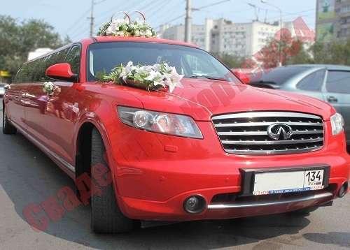 """Лимузин Infiniti - фото 13767578 Компания проката авто """"Кортеж 34"""""""