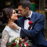Букет невесты Ирины. Фото: Елена и Илья Беловы ()
