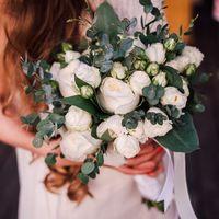 Букет невесты Василисы.  Фотограф: Пётр Минаков ()
