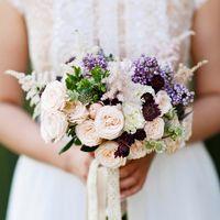 Свадьба Насти и Димы, букет невесты. Декор и флористика: Friday Flowers; Фотограф: Дмитрий Никитин ()