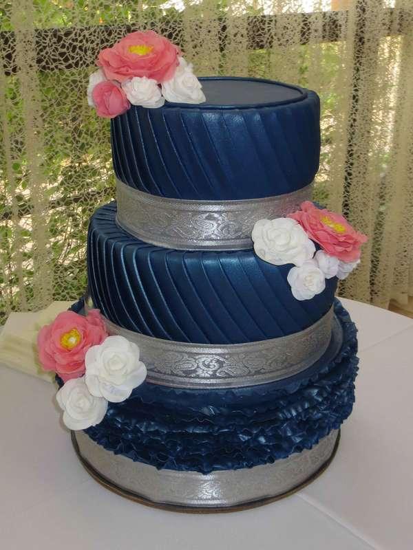 Торт свадебный - фото 14914126 Кондитер Ирина К.