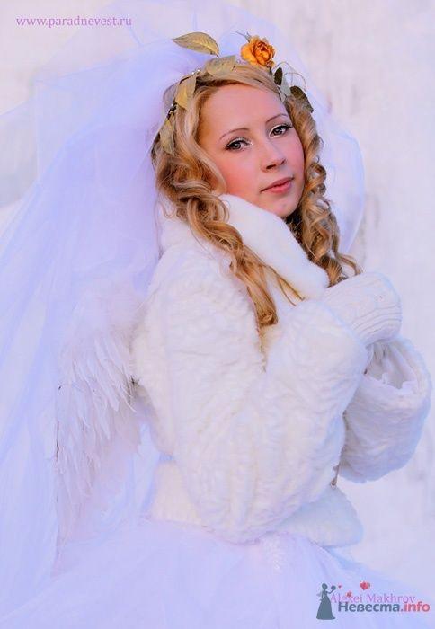 Фото 69506 в коллекции Зимний сказка или Парад невест в феврале - Стилист свадебного образа Летуновская Ольга