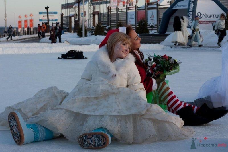 Фото 69513 в коллекции Зимний сказка или Парад невест в феврале - Стилист свадебного образа Летуновская Ольга