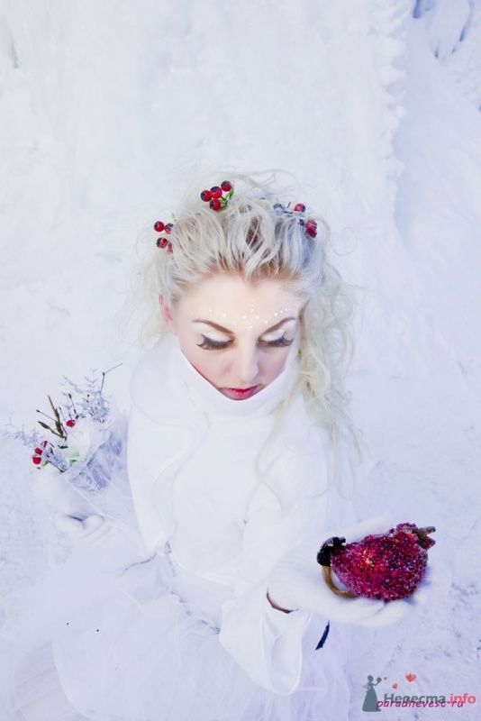 Фото 70127 в коллекции Зимний сказка или Парад невест в феврале - Стилист свадебного образа Летуновская Ольга
