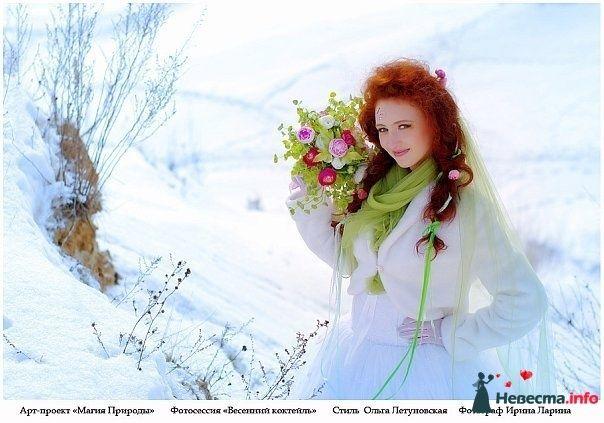 Фото 83841 в коллекции Арт-проект Ирины Лариной - Стилист свадебного образа Летуновская Ольга