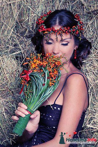 Фото 129290 в коллекции Единение с природой - Стилист свадебного образа Летуновская Ольга