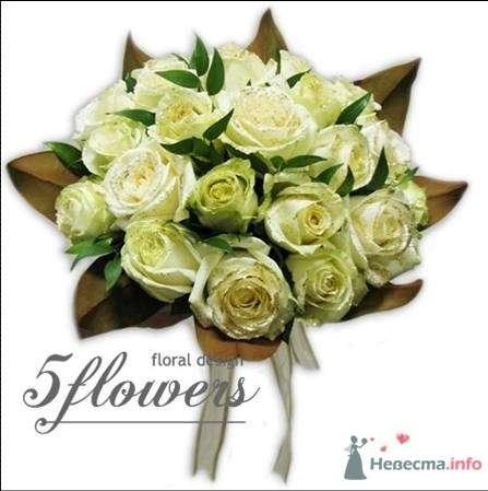 """Фото 35184 в коллекции букет невесты - Салон """"5 цветов"""""""