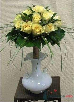 """Фото 35189 в коллекции букет невесты - Салон """"5 цветов"""""""
