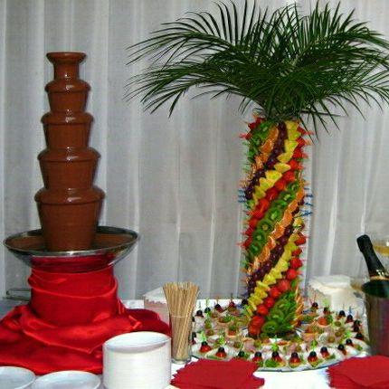 Шоколадный фонтан, 4 часа
