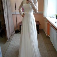 Свадебное платье: Агата Ткань:  кружево , евросетка. Цвет: молоко Цена: 17500 Это платье на сайте: