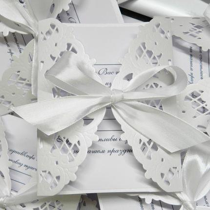 Свадебное приглашение, цена за 1 шт