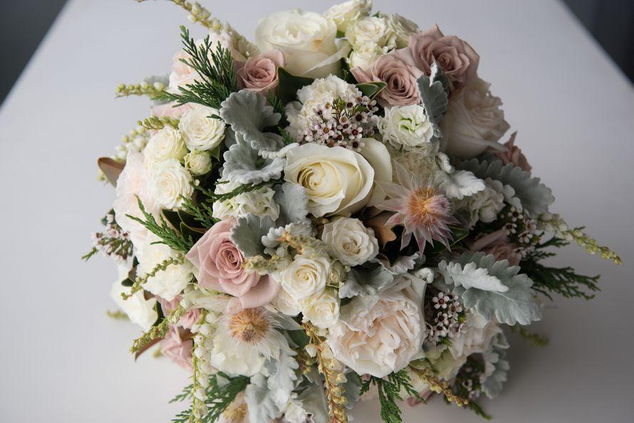Букет невесты 25 см