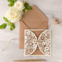 свадебное приглашение-открытка, в крафт конверте , размер 15,5/21,5 см , дизайнерская бумага, любого оттенка.  цена от 150р/шт