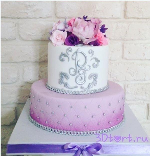 Фото 14338802 в коллекции Свадебные торты - Авторские торты от Анны Мочаловой
