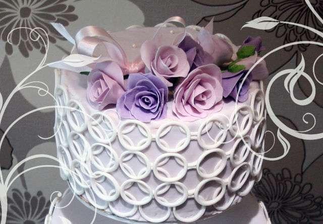 Фото 14338928 в коллекции Свадебные торты - Авторские торты от Анны Мочаловой
